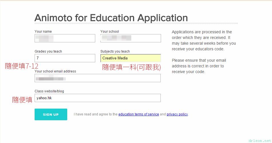 apply-animoto-education